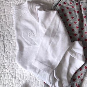 Baby Gap | White Long Sleeve Bodysuit